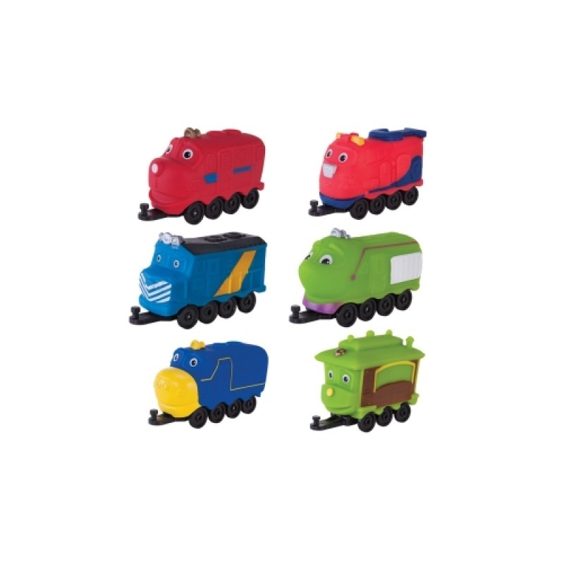 Чагингтон CHUGGINGTON паровозики в блистере в ассорт.
