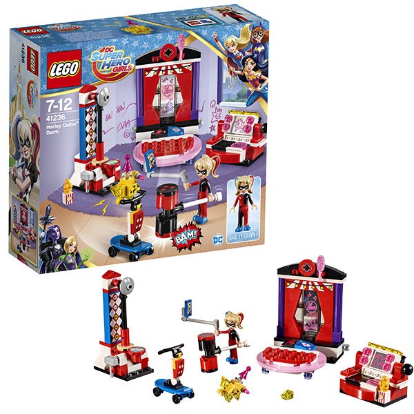 Конструктор LEGO Super Hero Girls Бэтгёрл Дом Харли Квинн