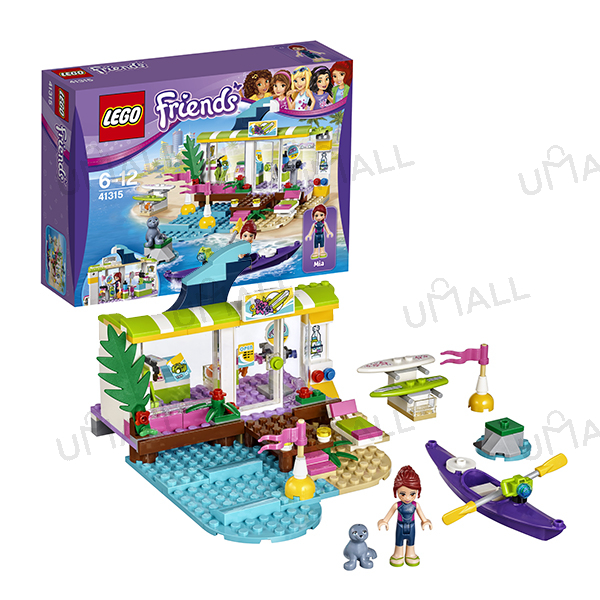 Конструктор LEGO Friends Сёрф-станция